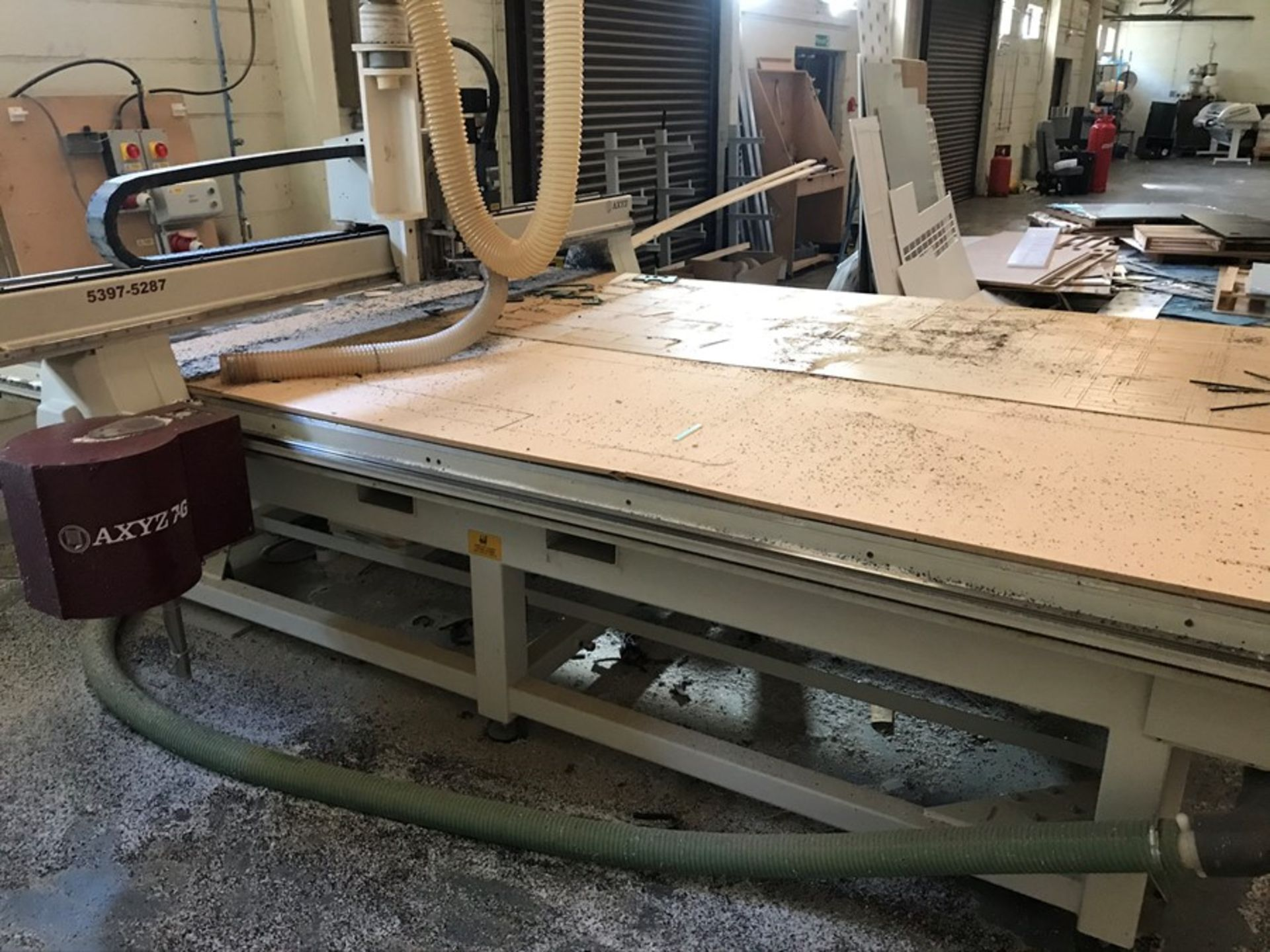 AXYZ 6010 ATC 7G CNC router (2015) - Image 6 of 20