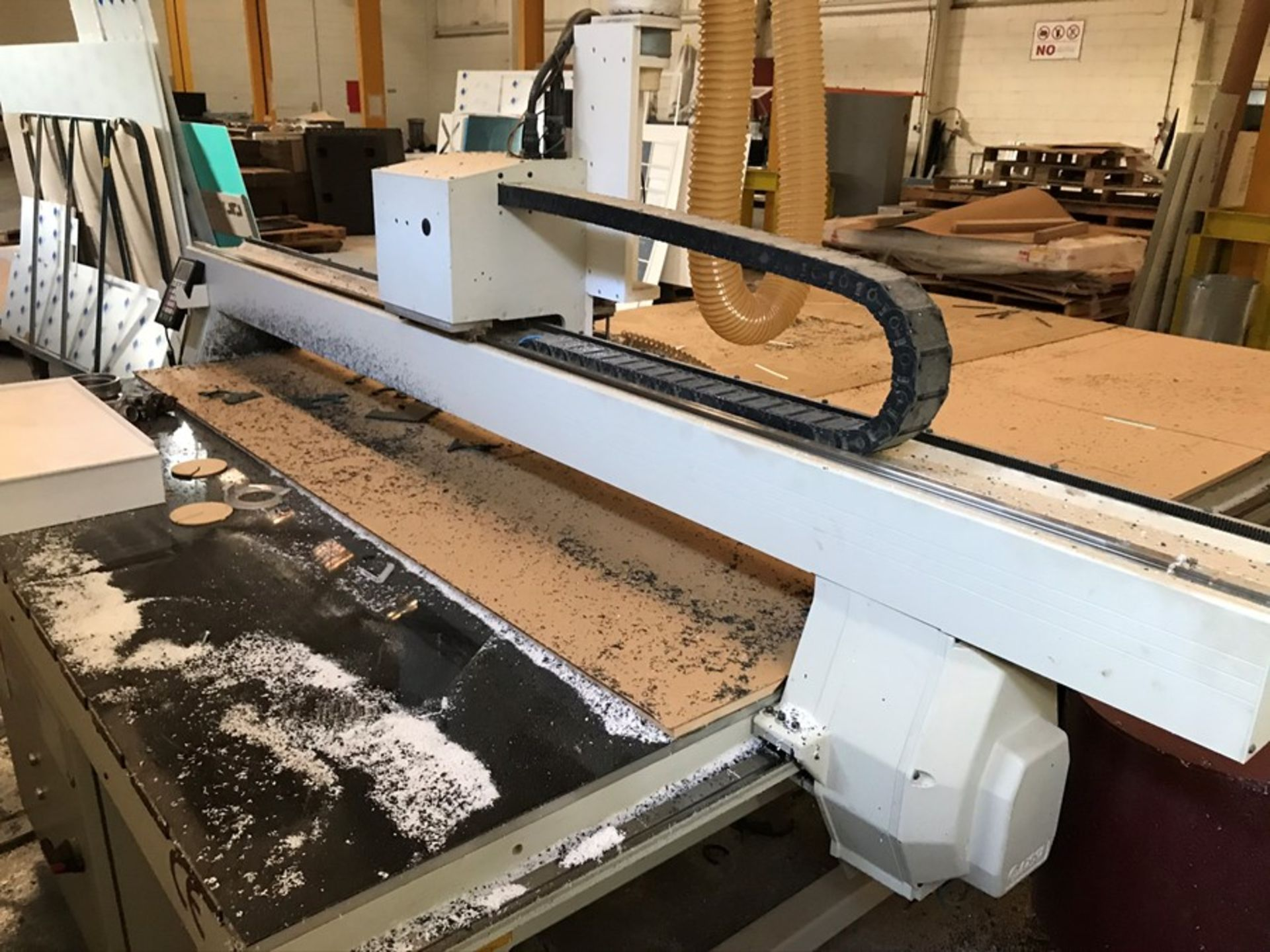 AXYZ 6010 ATC 7G CNC router (2015) - Image 9 of 20