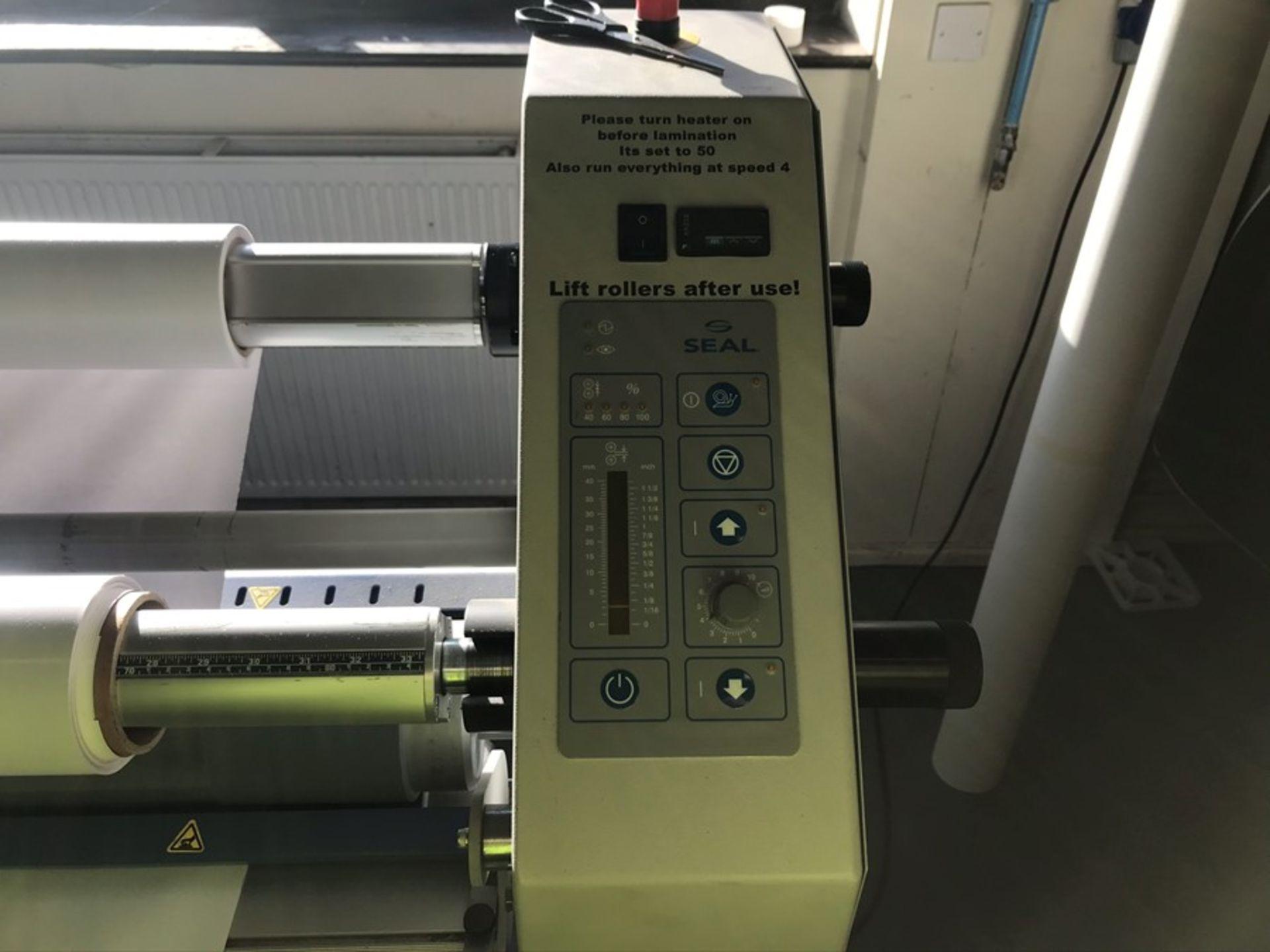 Seal 62S single heated laminator (2014) - Image 3 of 7