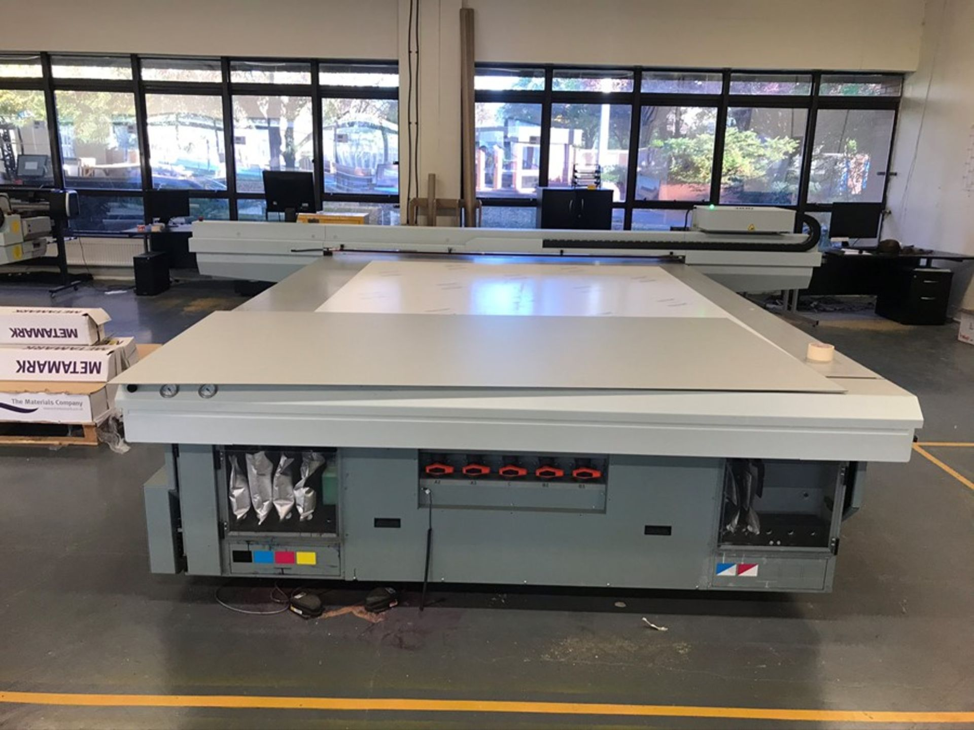 Oce Arizona 660 XT UV flatbed printer (2015) - Image 6 of 22