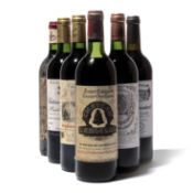 10 bottles Mixed Claret
