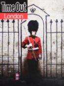 Banksy (British 1974-), 'Time Out London', 2010
