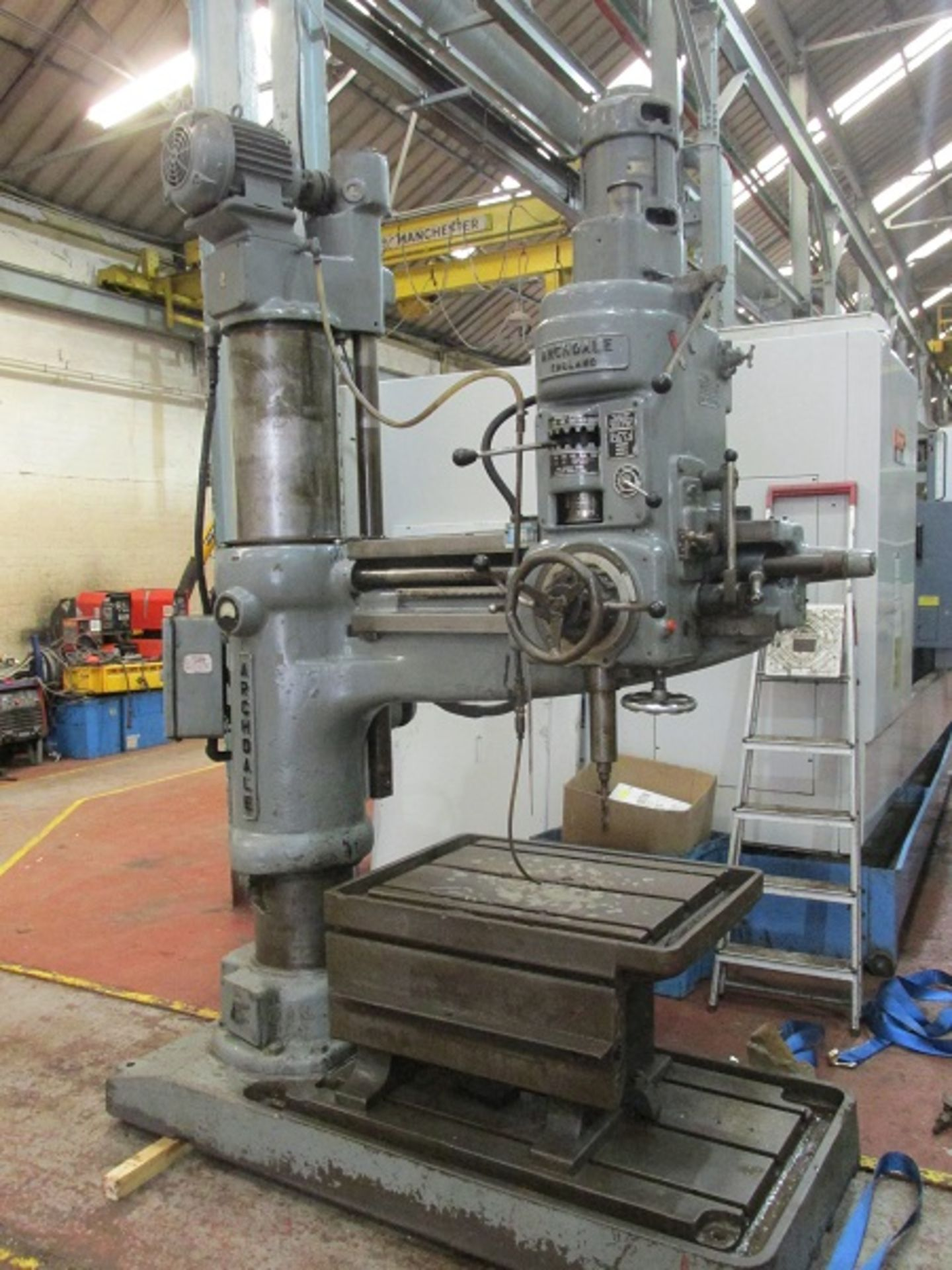 Los 14 - Archdale 4'-0 Radial Drilling Machine