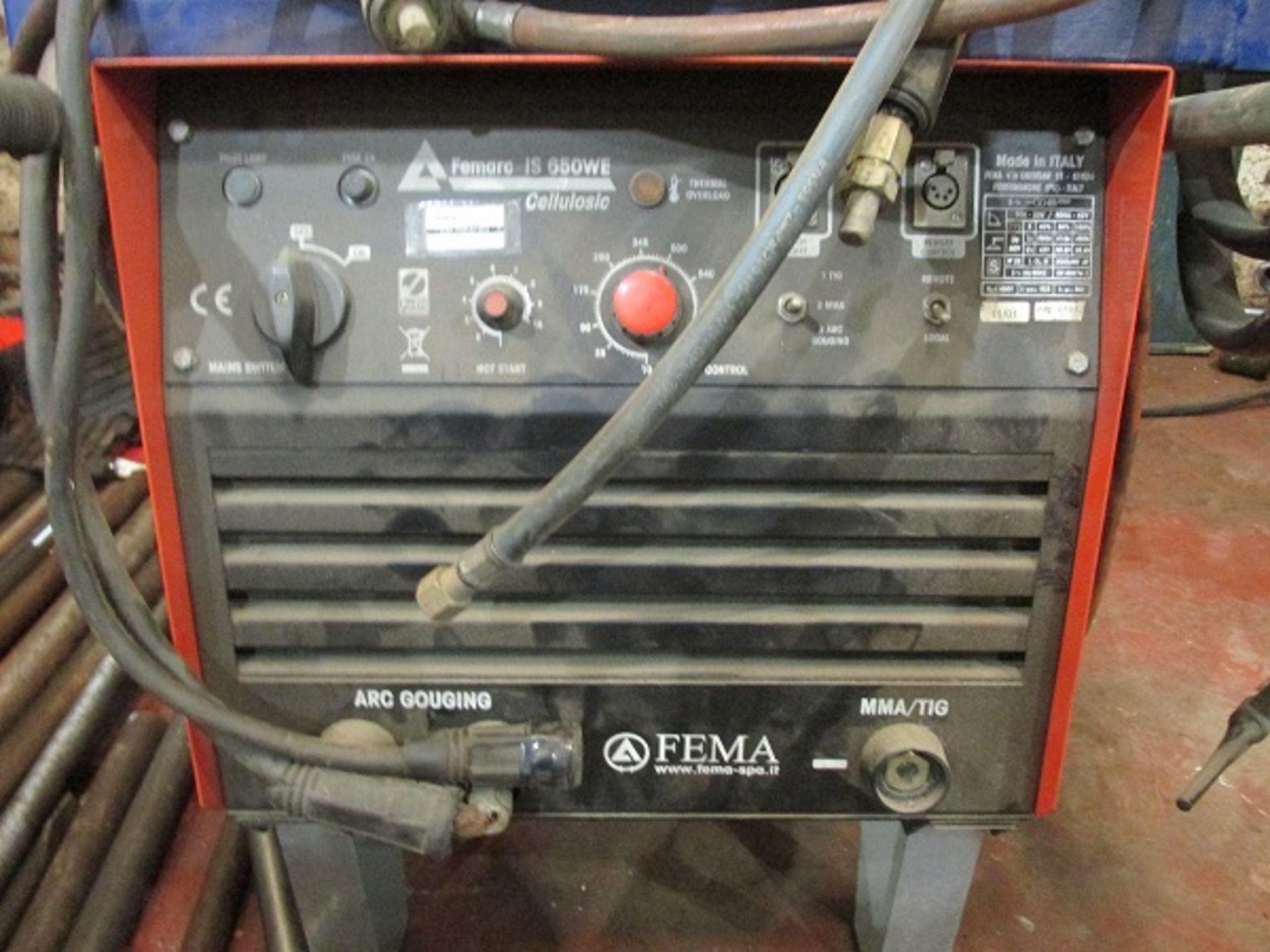 Los 30 - FEMA FERMAC IS 650 WE Cellulosic Welder