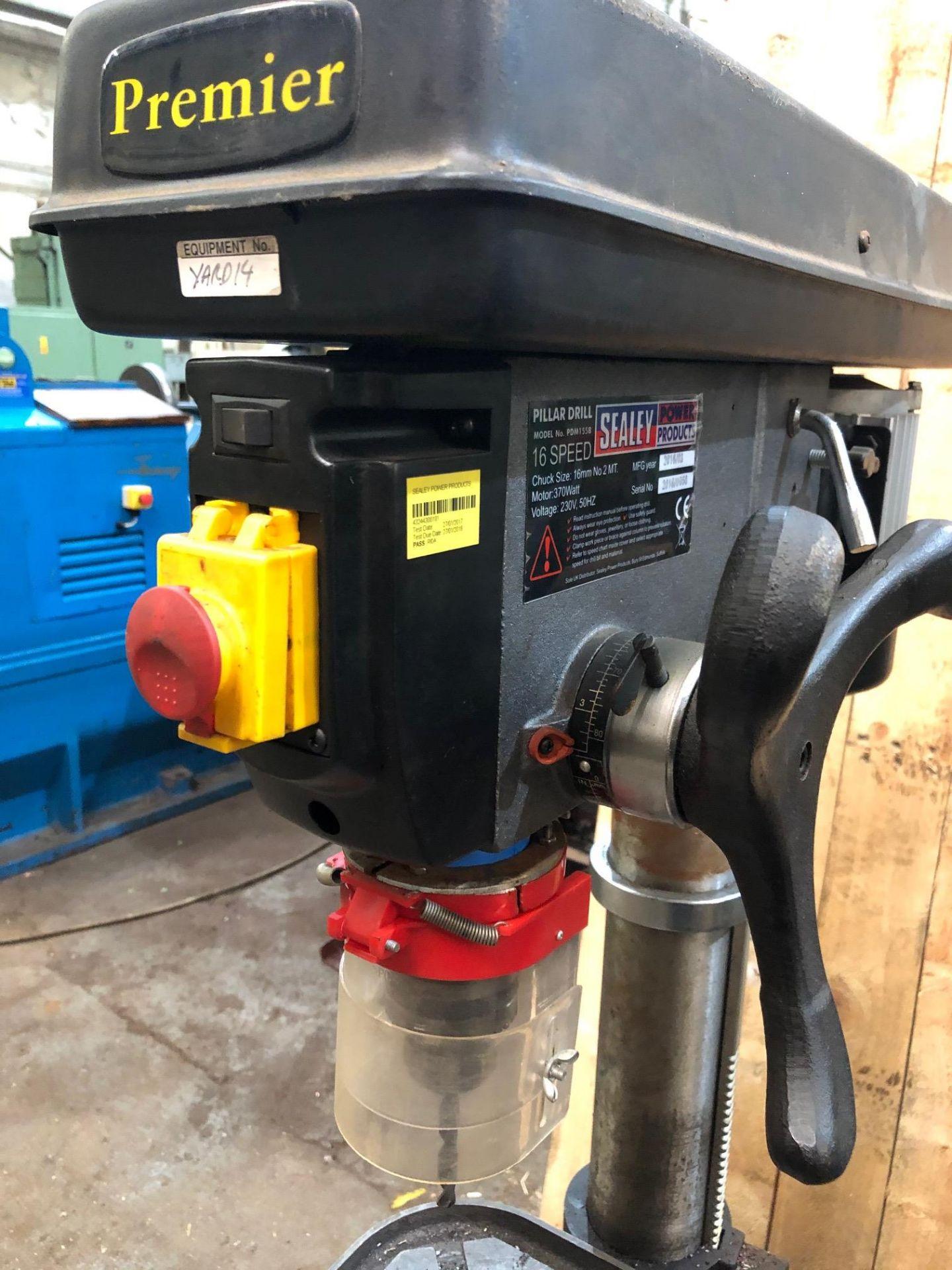 Lot 33 - Sealey PDM 155B Pillar Drill