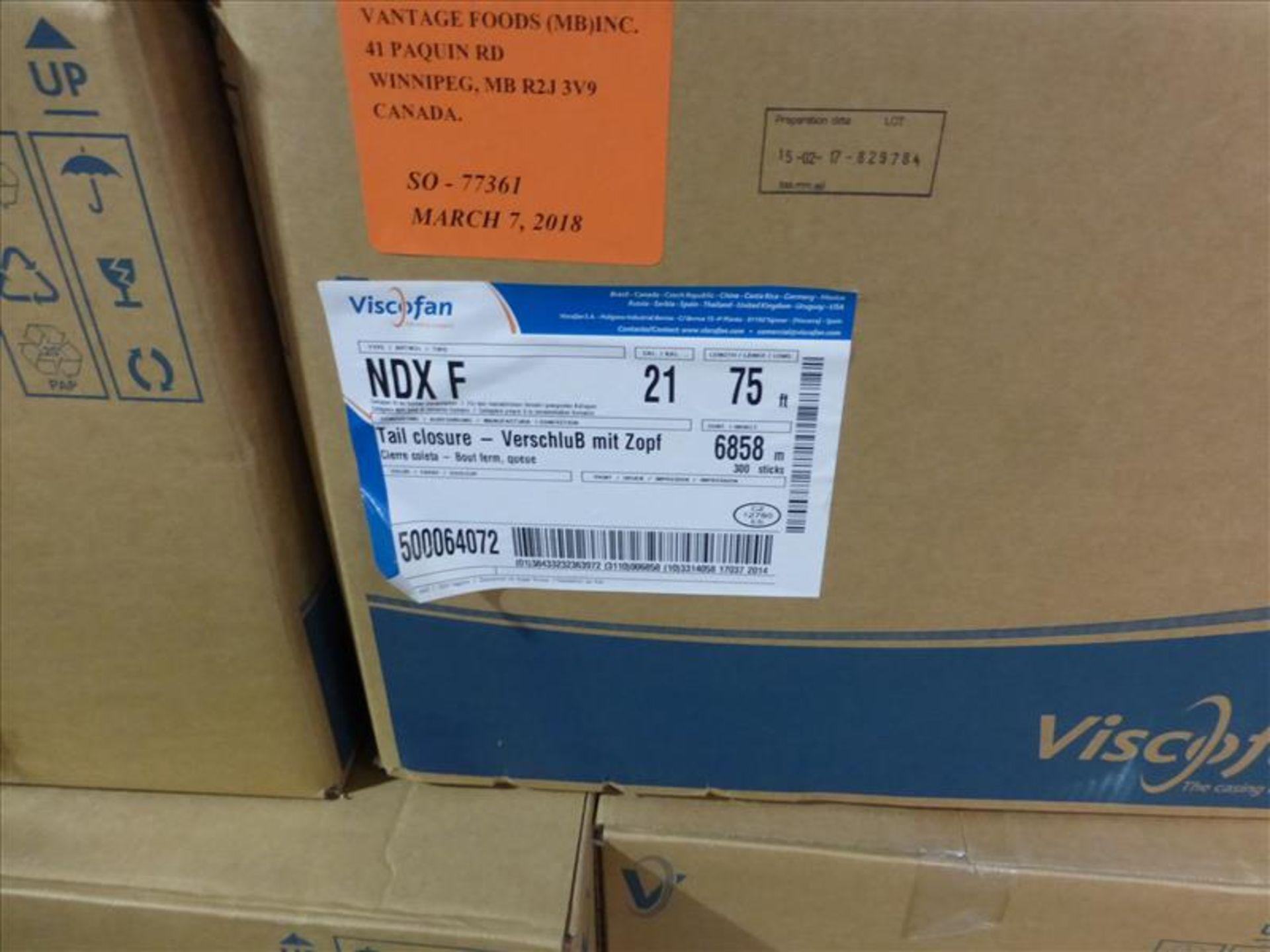 Lot 246 - (6 cases, 36 caddies) Viscofan NDX F, caliber 21