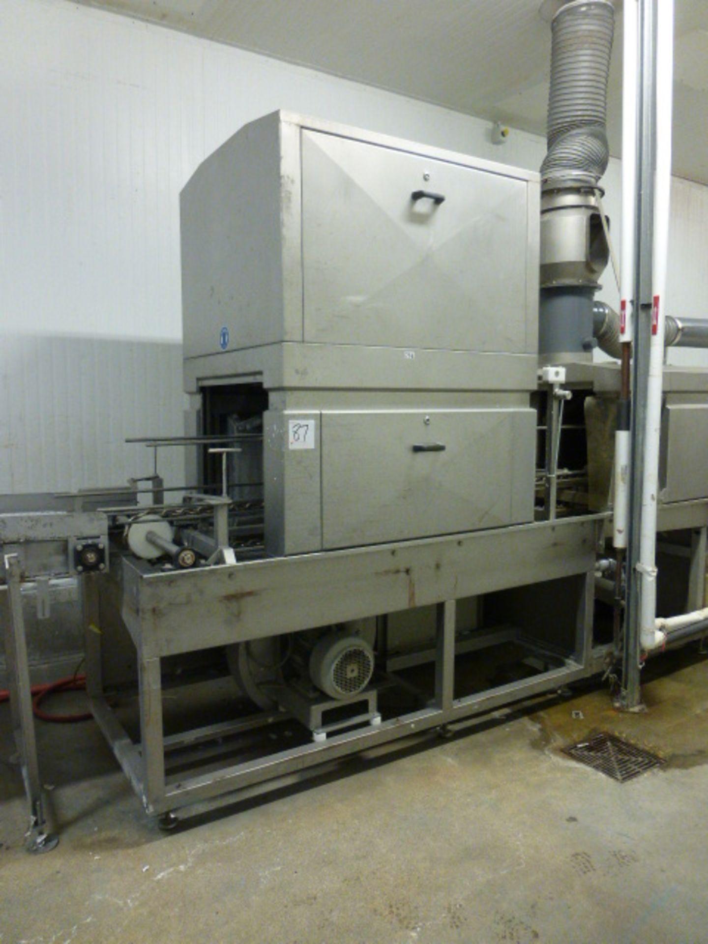 Lot 87 - Systemate Numafa tray washer, type 19.50.007.500, s/n 707145