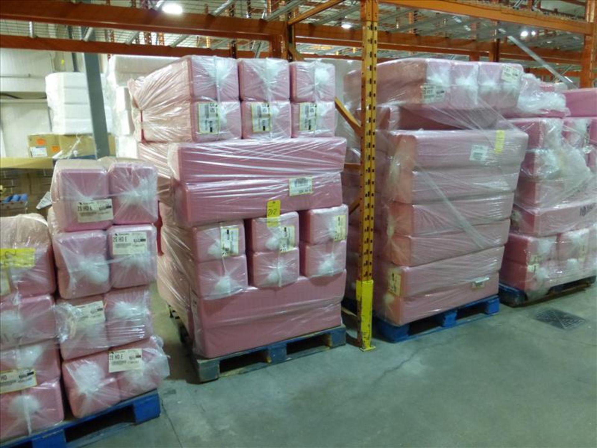 Lot 212 - (40 bundles, 20000) 2S HD overwrap foam trays, Cascade, pink