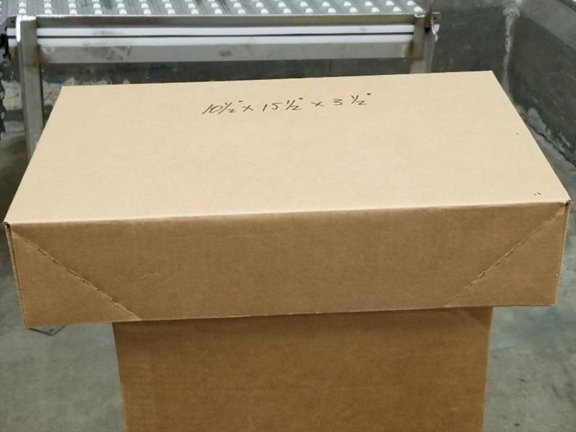 Lot 220 - (10 bundles, 2500) 7H/'7S PP overwrap foam trays, Cascade, pink