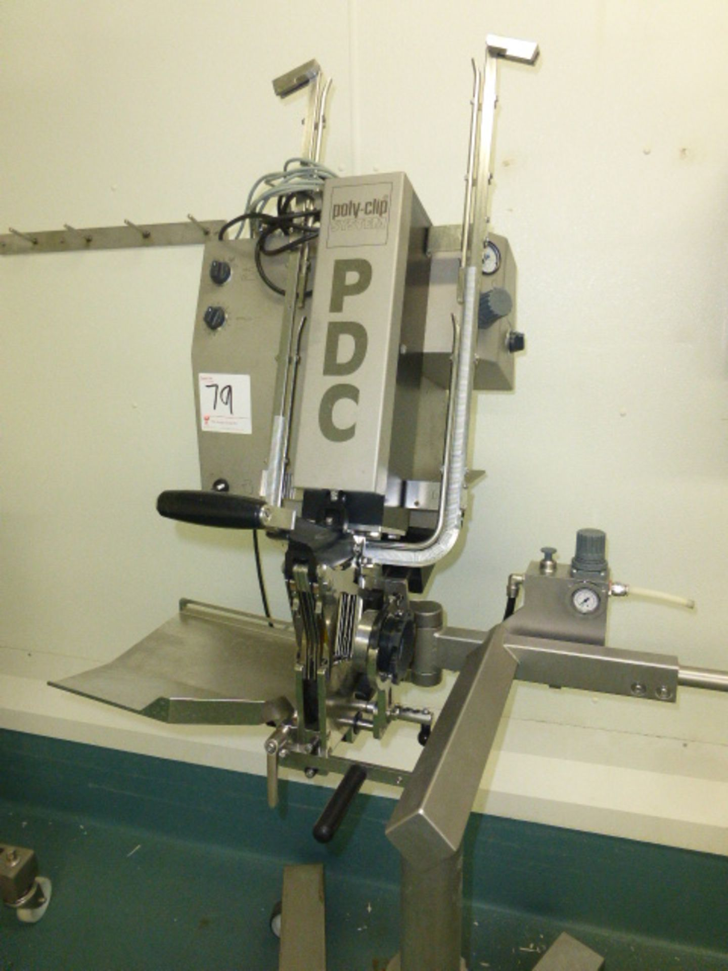 PDC poly clip system, model PDC 700, s/n 3557/16 - Image 2 of 4