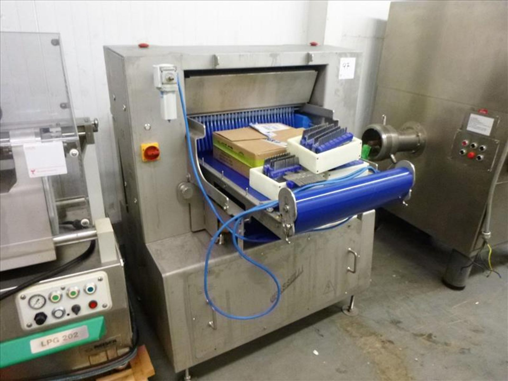 Lot 97 - Grasselli vertical meat slicer, mod. NSL800, ser. no. W27000/727 (2006), s/s