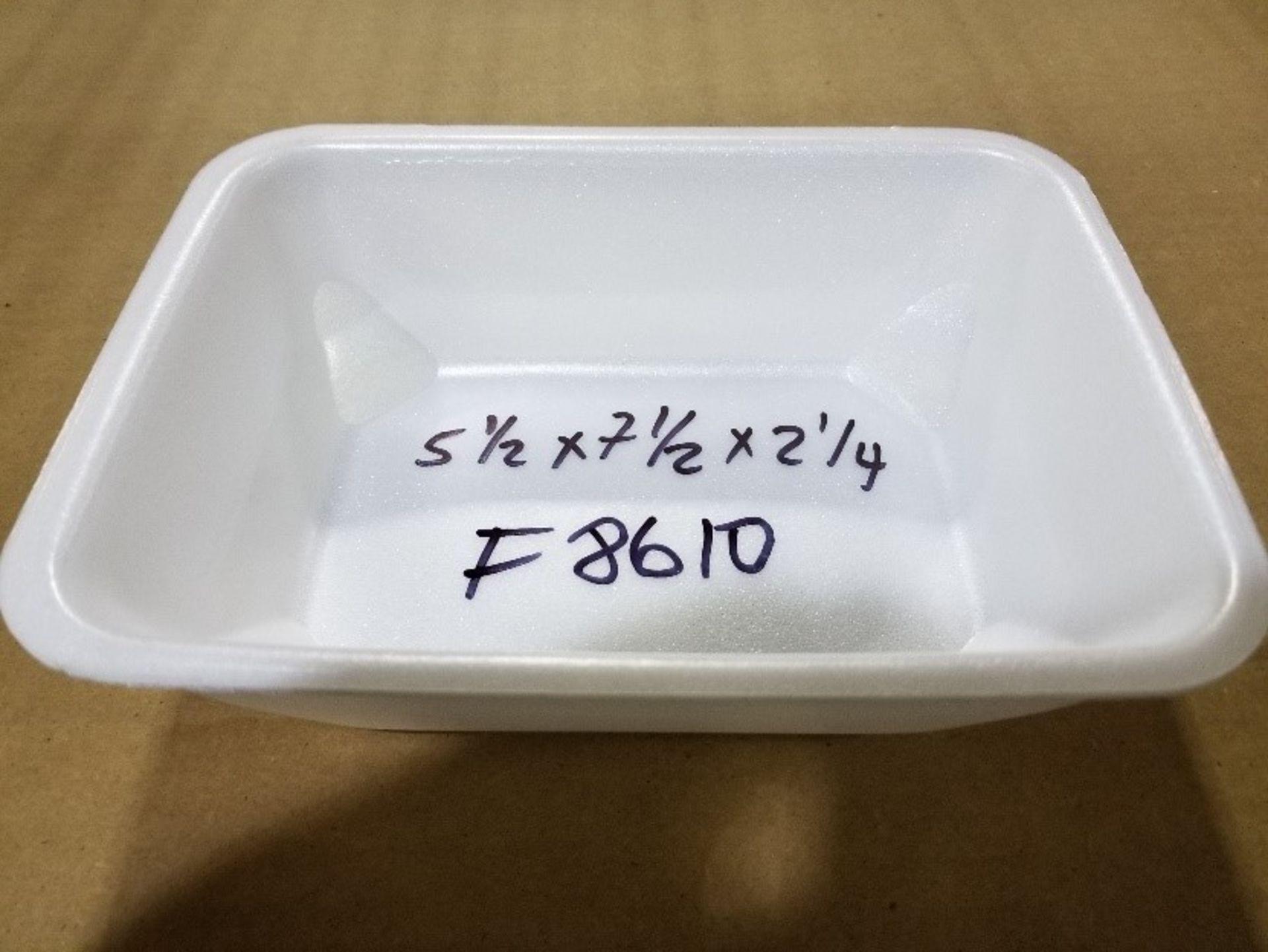 Lot 194 - (18 pallets, 54, 000) F8610 MAP trays NOVIPAX white