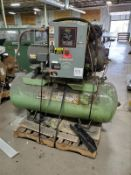 Sullair Model 8E20 20 HP Air Compressor w/Tank