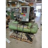 Sullair Model 8E20 20 HP Air Compressor w/Tank