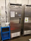 Coldco Stainless Steel Freezer, Model BSD-1F, S/N BSD-1F15061413003