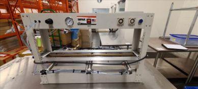Impak Pneumatic Plastic Tube Sealer, model MSTSS760, s/n.100990.