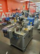 Marko-Tech Automatic Labelling Machine, Model LI-250 S, 50 pc.min, Label: square/ round label, Round