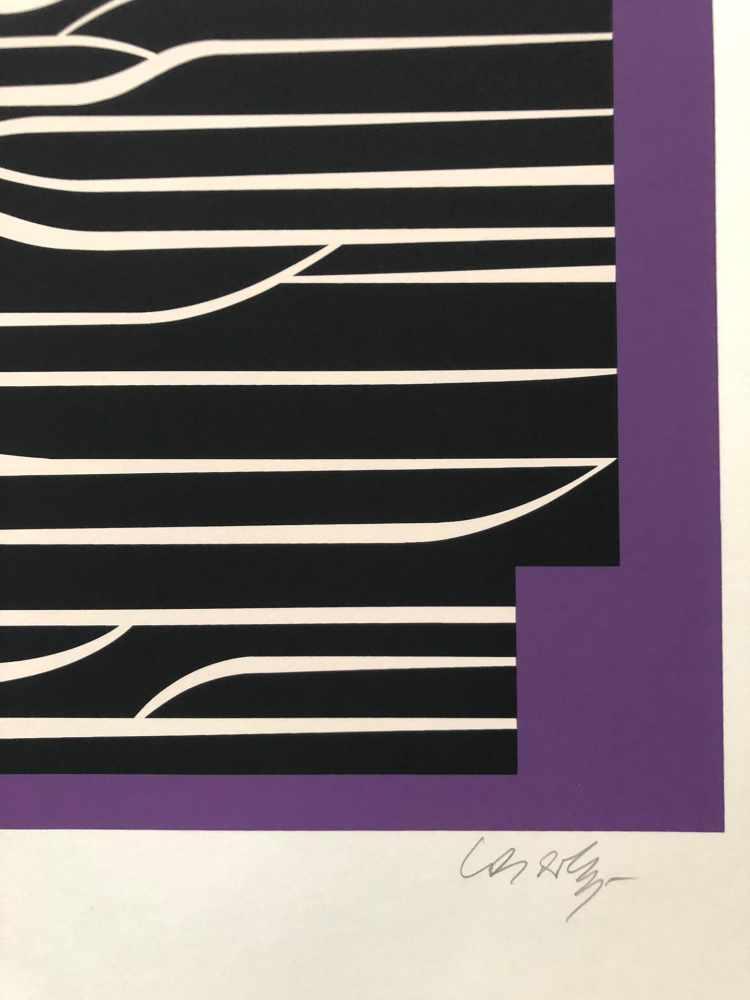 Lot 42 - Victor Vasarely - Les annees cinquante 7Sérigraphie originale sur papierSignée au crayon et