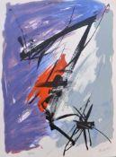 Jean Miotte - Pour les vingt ans de la Différence, 1996Lithographie originale en couleurs sur