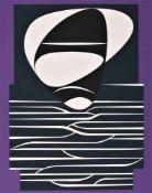 Victor Vasarely - Les annees cinquante 7Sérigraphie originale sur papierSignée au crayon et