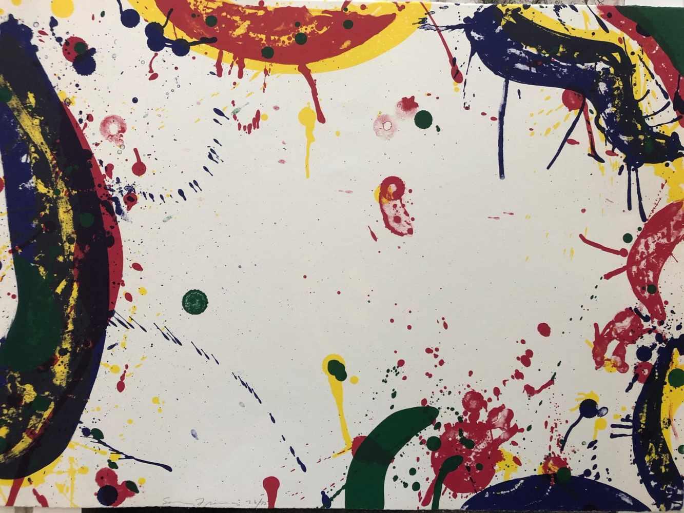 Lot 45 - Sam Francis - Colors in Space, 1970Lithographie originale sur papierSignée au crayon et numérotée 26