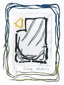 Pierre Alechinsky - Triade I, 2013Gravure et lithographie originale sur papier BFK Rives