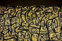 Antonio Saura - Foule, 1989Lithographie originale sur papier BFK RivesSignée à la main et