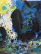Chu Teh-Chun - Saison bleue, 2006 Lithographie originale en couleurs sur papier RivesSignée à la