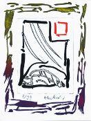 Pierre Alechinsky - Triade III, 2013Gravure et lithographie originale sur papier BFK Rives