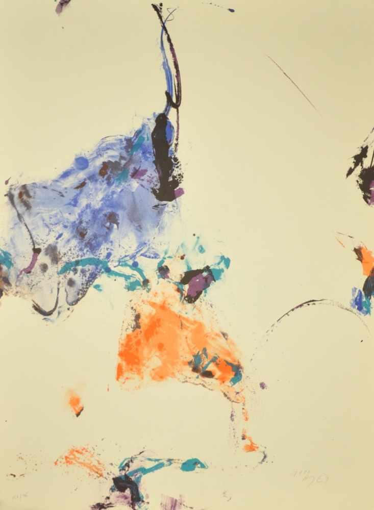 Lot 18 - Kim En Joong - Monde Imaginaire VILithographie sur papierSignée et datée 1990 au crayonNumérotée