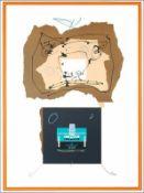 Antonio Saura - Carmen, 1976Lithographie originale sur papier BFK RivesSignée à la main et numérotée