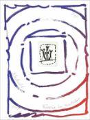 Pierre Alechinsky - Rêverie du Matelot I, 2015Gravure et lithographie originale sur papier BFK Rives