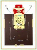 Antonio Saura - Anna, 1976Lithographie originale sur papier BFK RivesSignée à la main et