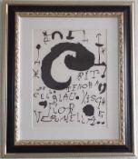 Joan Miro - Les Essencies de la Terra IV