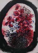 Georges Braque - Fleurs, 1963