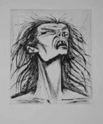 Bernard Buffet - L'enfer de Dante / Figure eclatee