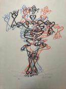 Otto Tschumi - Barocke Figur, 1968