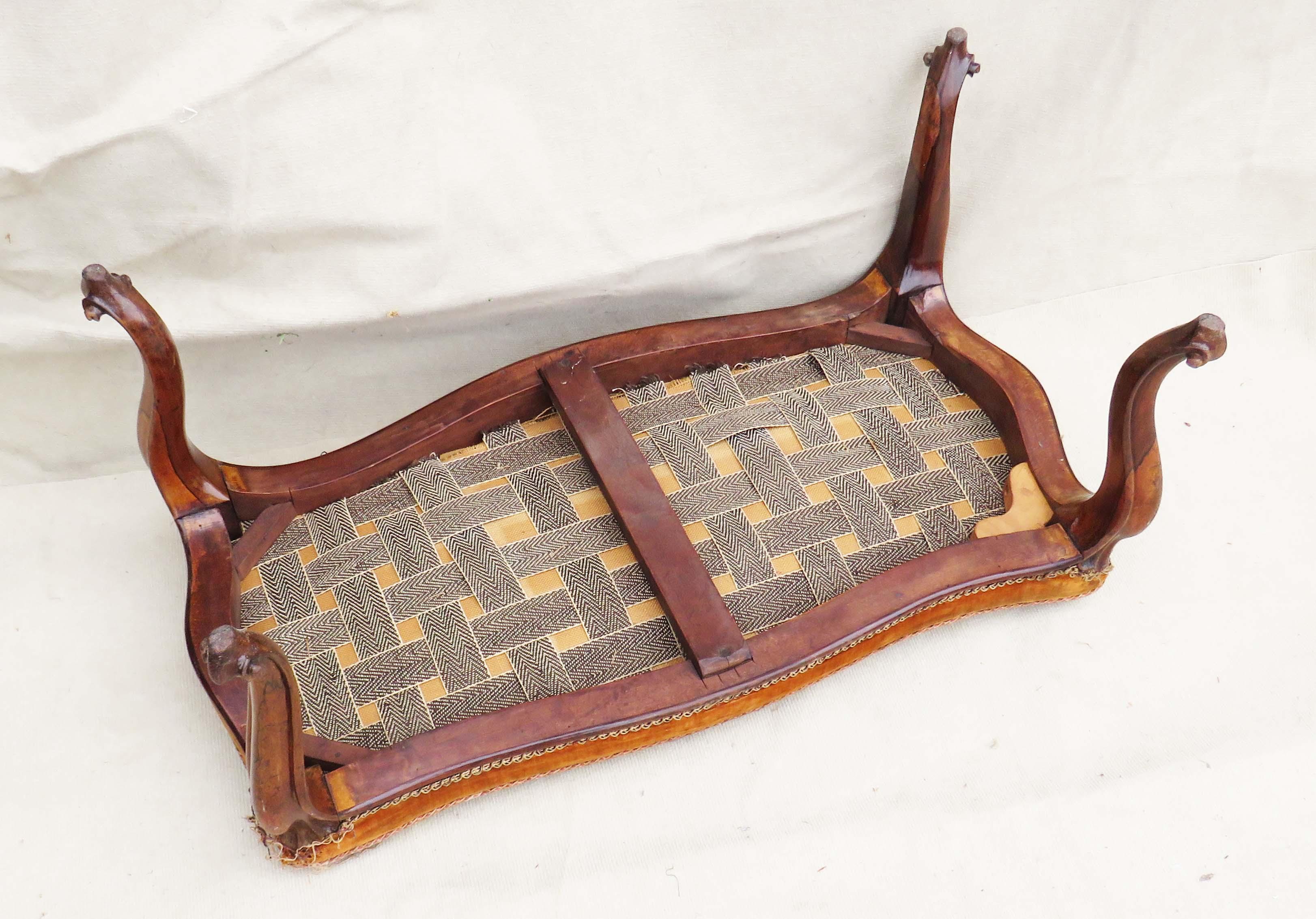 Lot 49 - Victorian Rosewood Duet Stool, English 19th Century