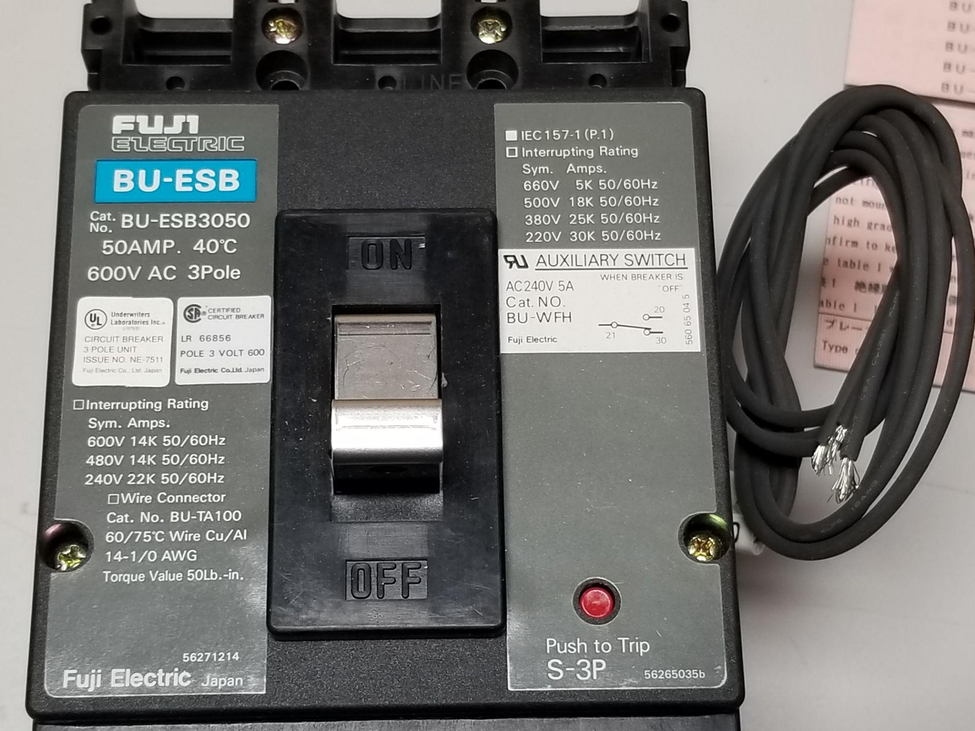 Lot 26 - New Fuji 50A Circuit Breaker