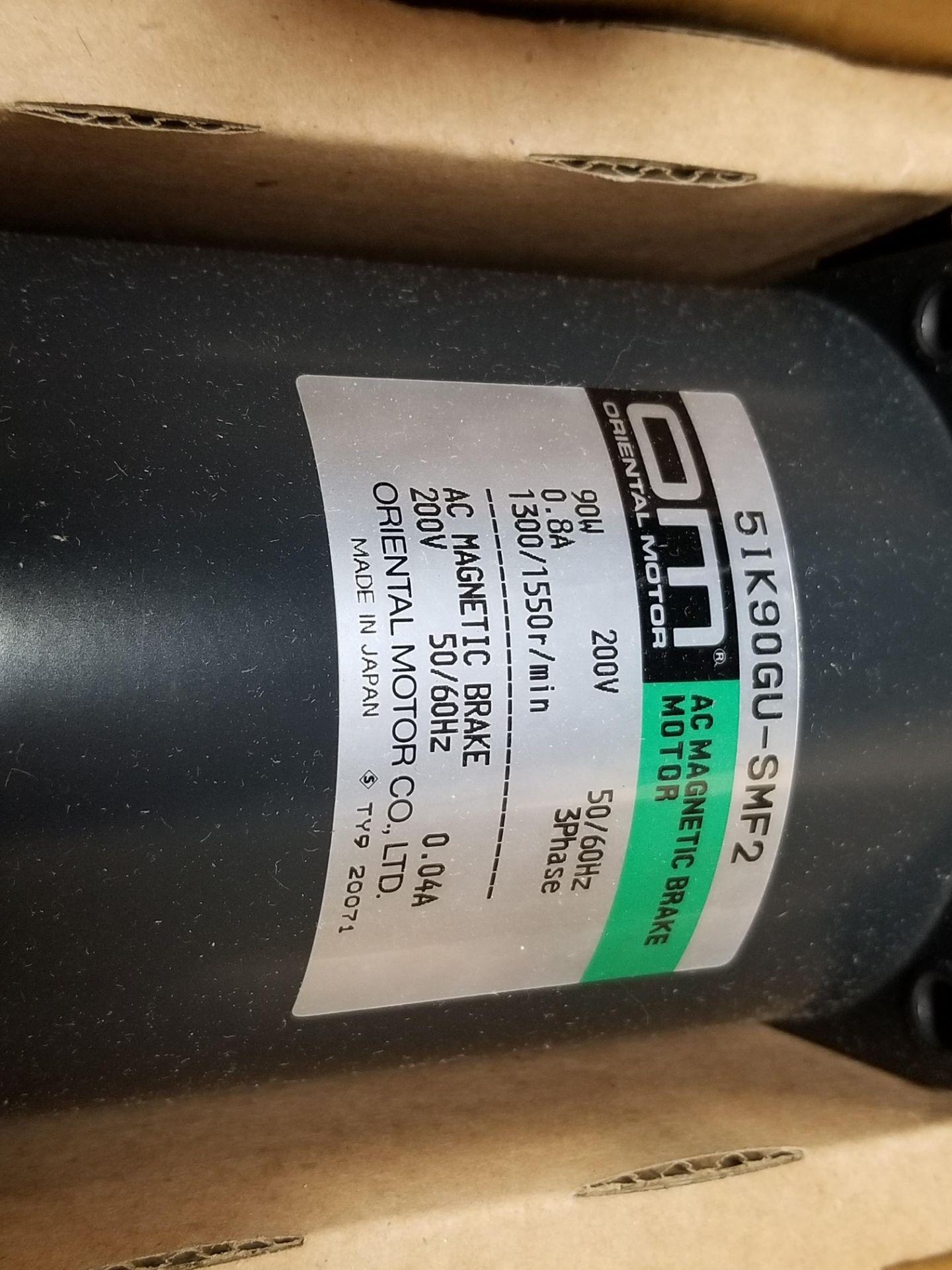 Lot 22 - New Oriental Motor AC Magnetic Brake Motor
