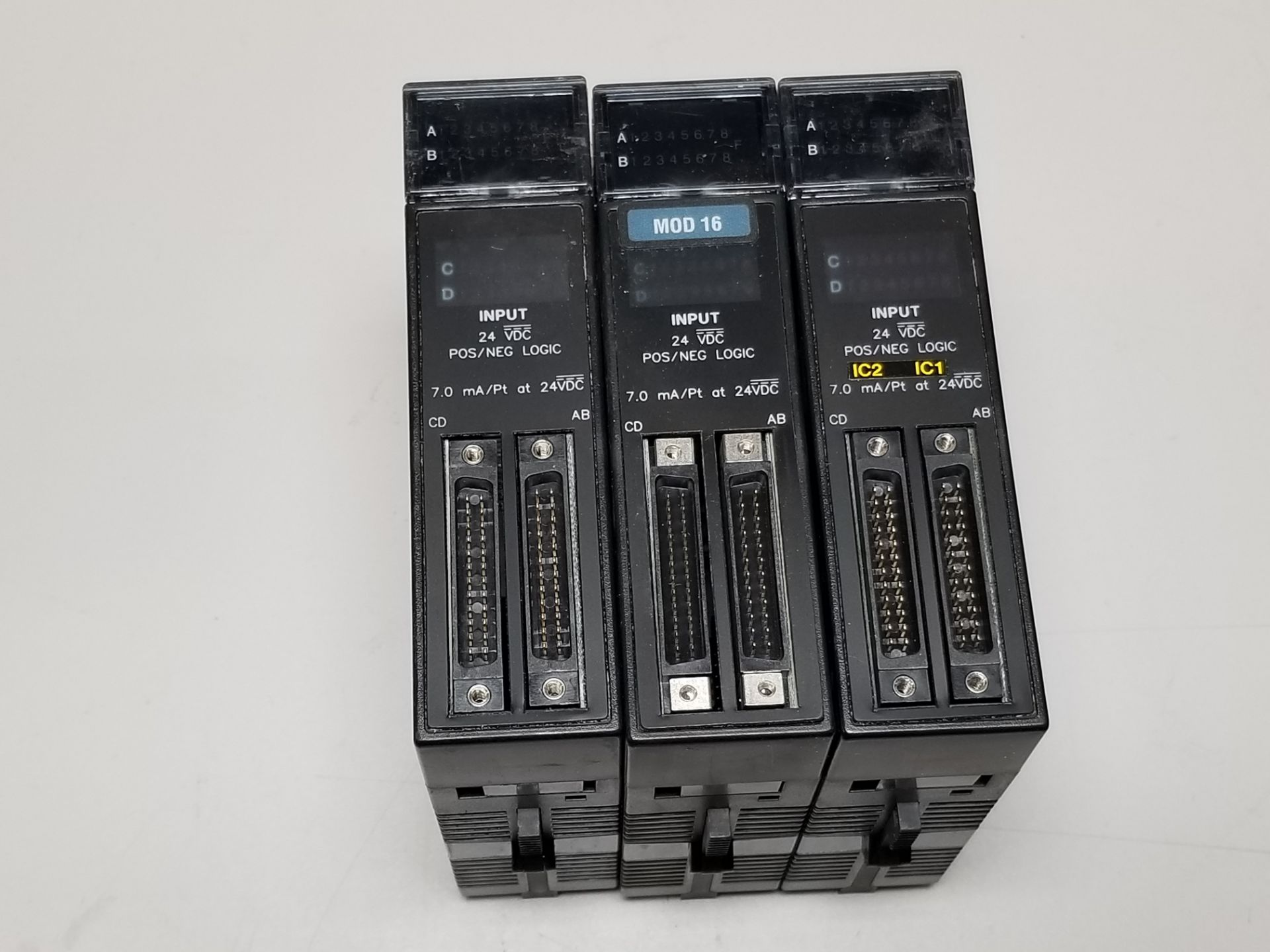 Lot 20 - LOT OF GE FANUC PLC MODULES