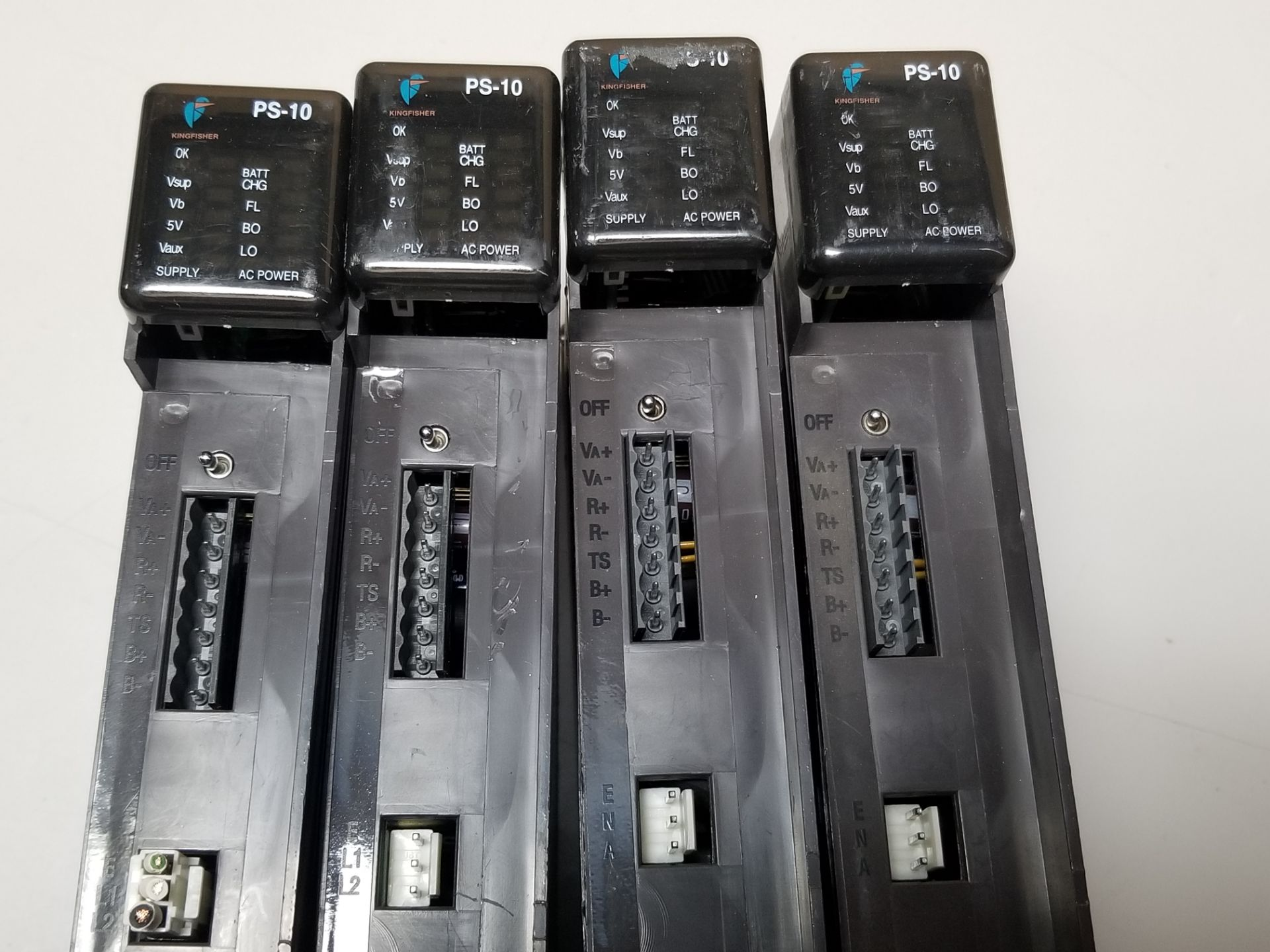 Lot 2 - LOT OF 4 KINGFISHER PLC POWER SUPPLY MODULES