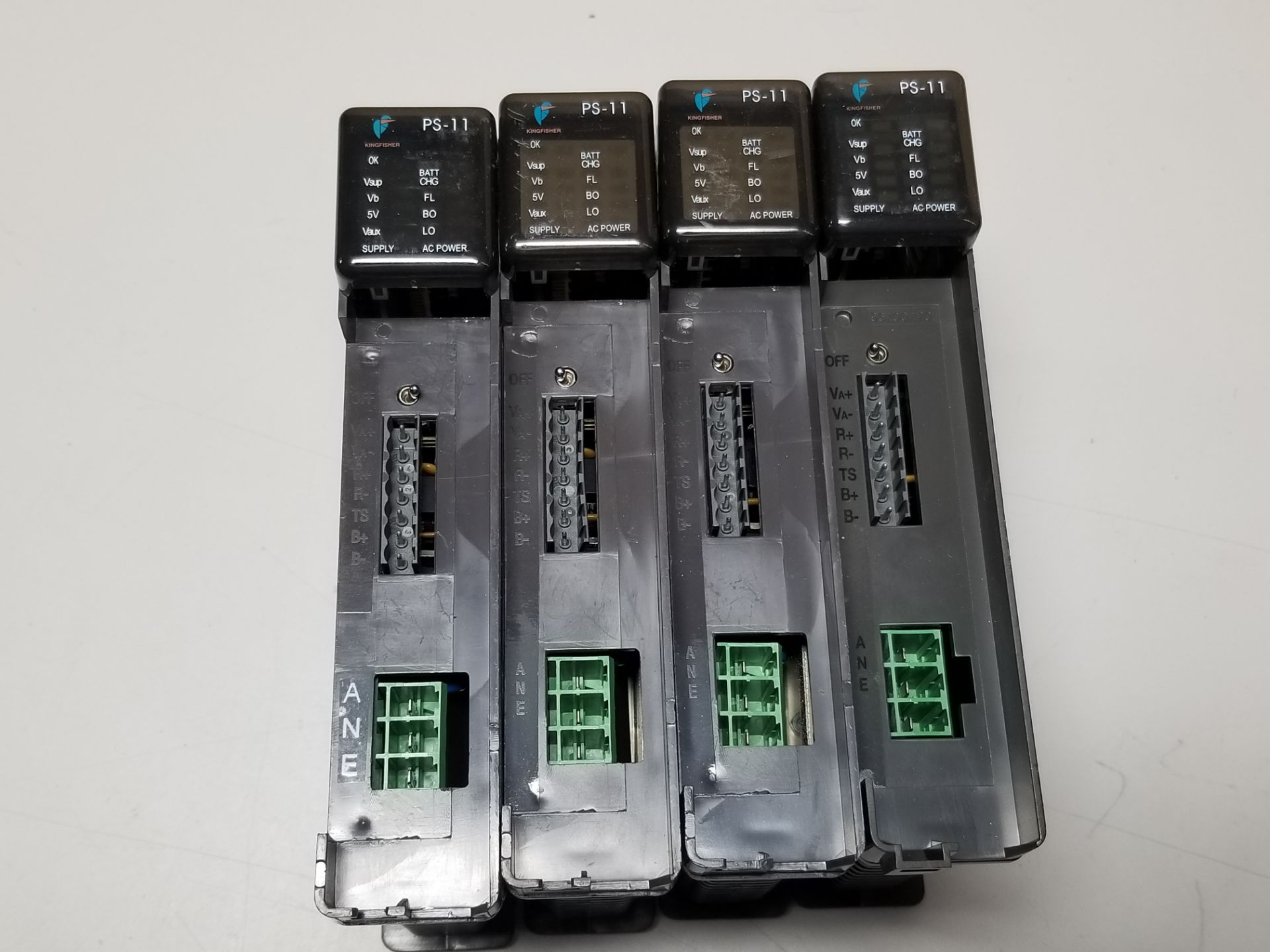 Lot 4 - LOT OF 4 KINGFISHER PLC POWER SUPPLY MODULES