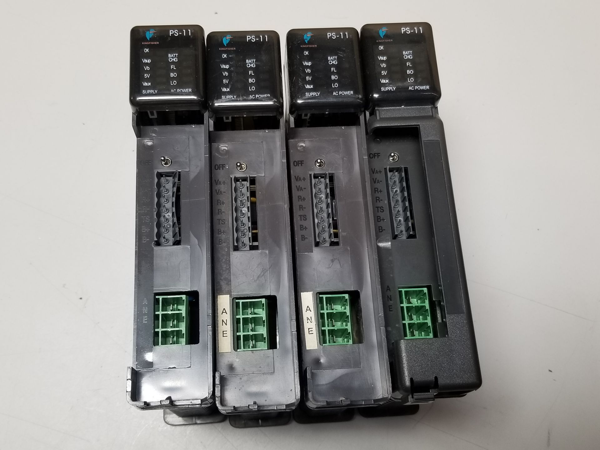 Lot 6 - LOT OF 4 KINGFISHER PLC POWER SUPPLY MODULES