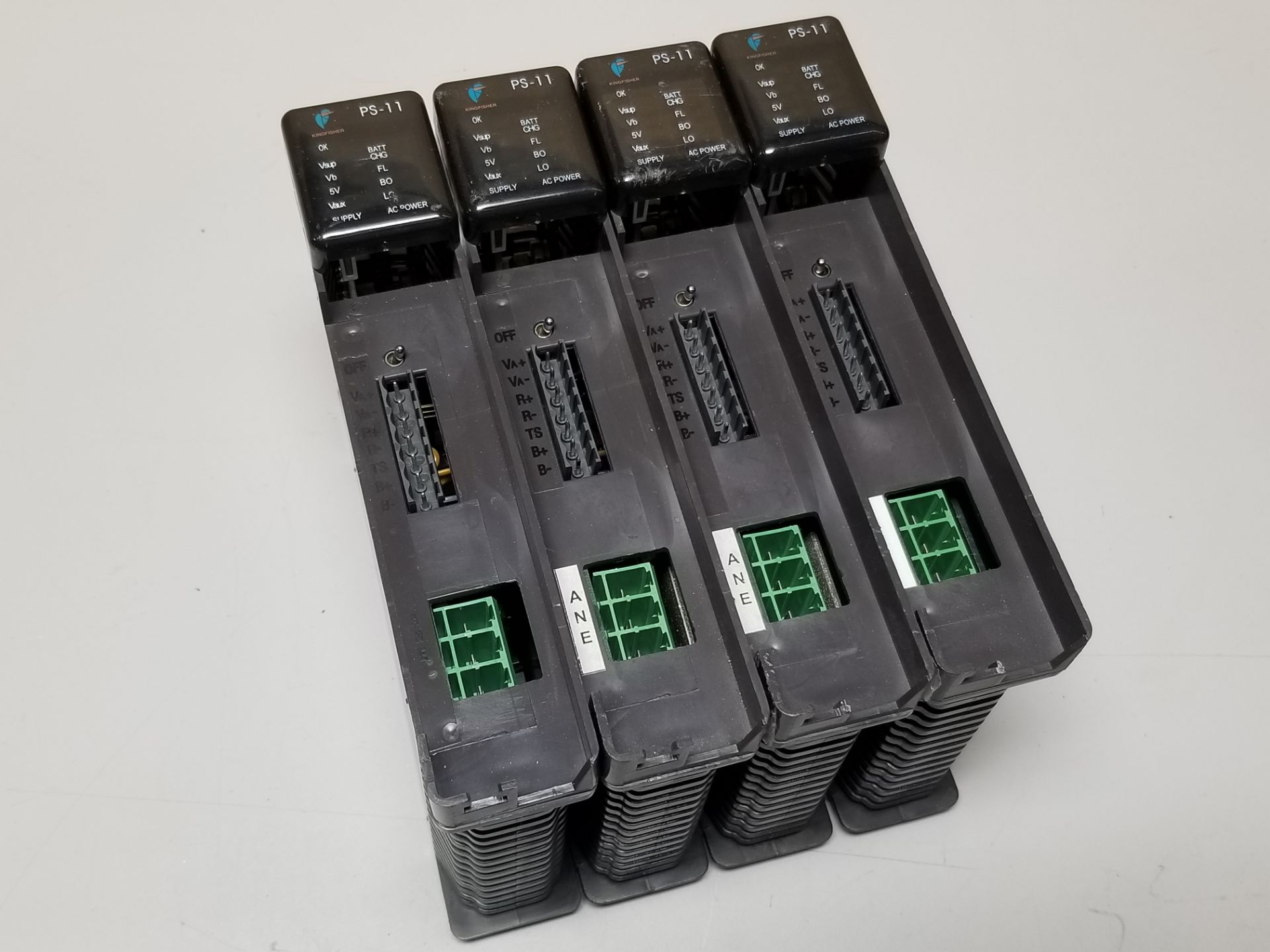 Lot 5 - LOT OF 4 KINGFISHER PLC POWER SUPPLY MODULES
