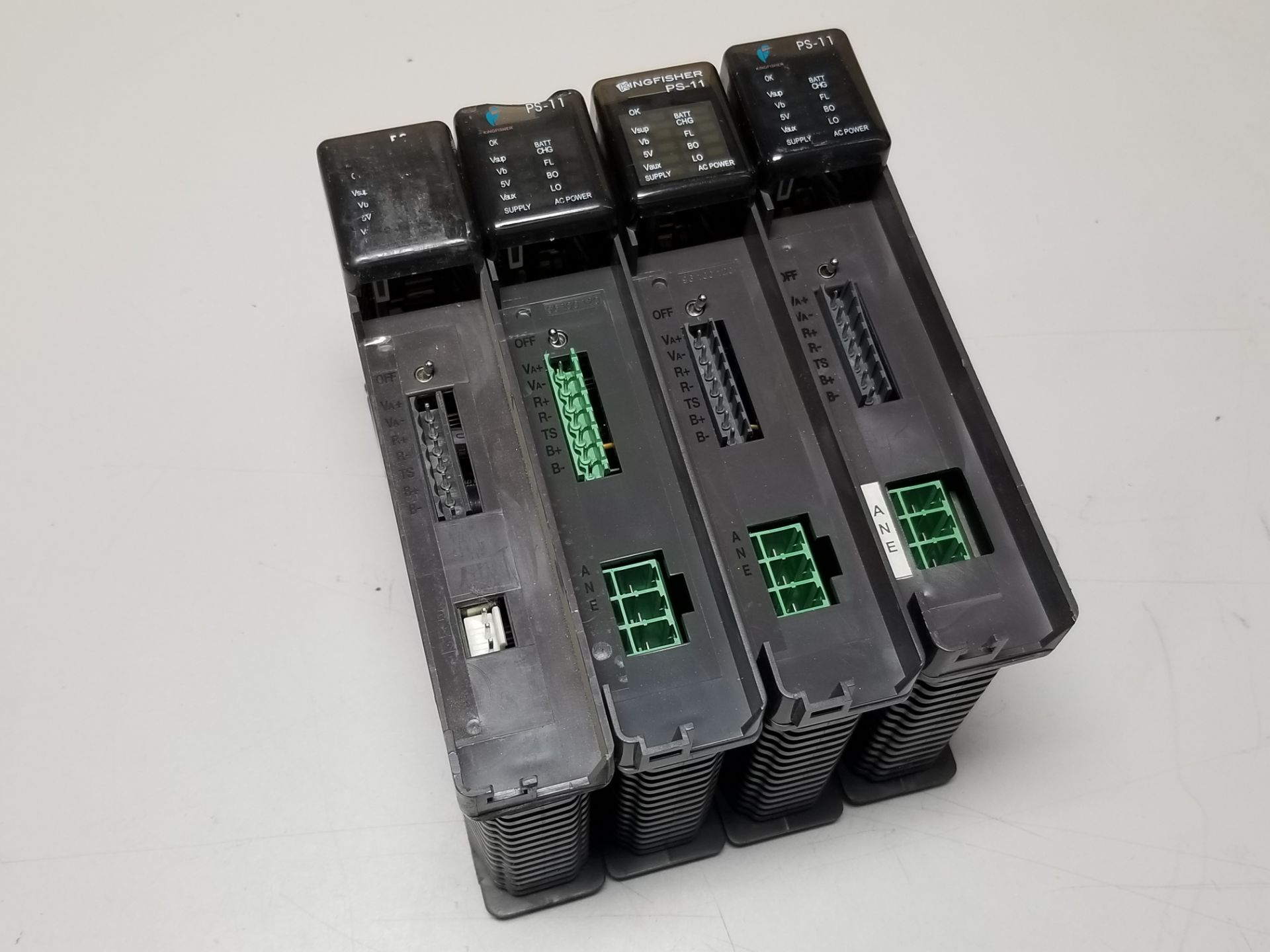 Lot 7 - LOT OF 4 KINGFISHER PLC POWER SUPPLY MODULES