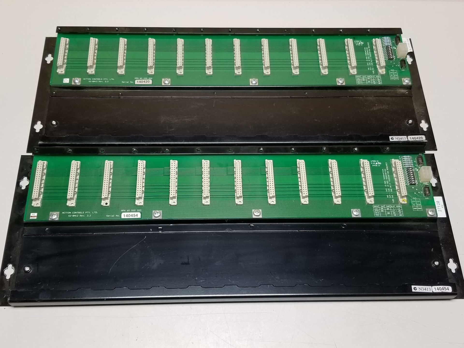Lot 17 - LOT OF ACTION CONTROLS/KINGFISHER PLC RACKS
