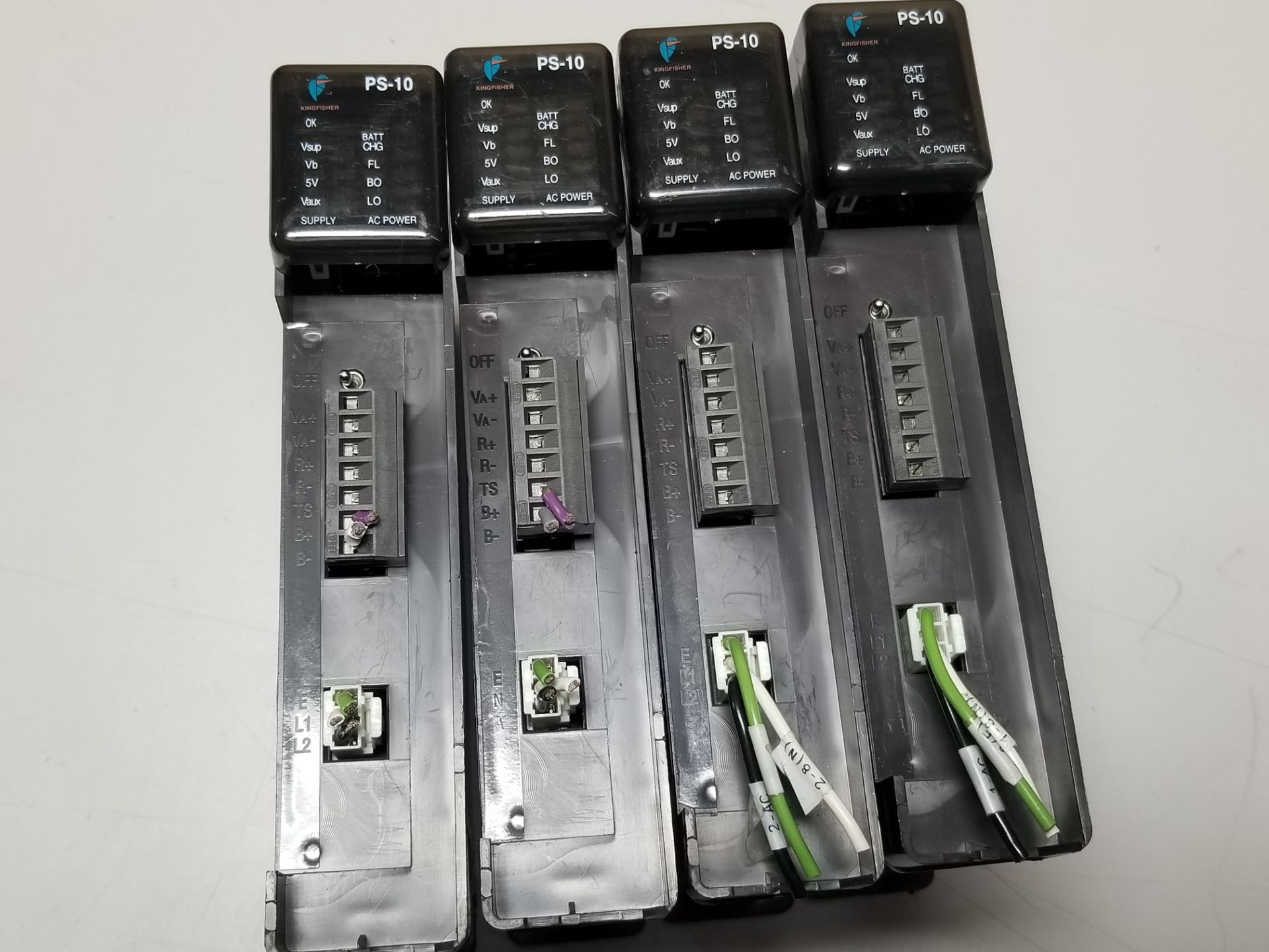 Lot 3 - LOT OF 4 KINGFISHER PLC POWER SUPPLY MODULES