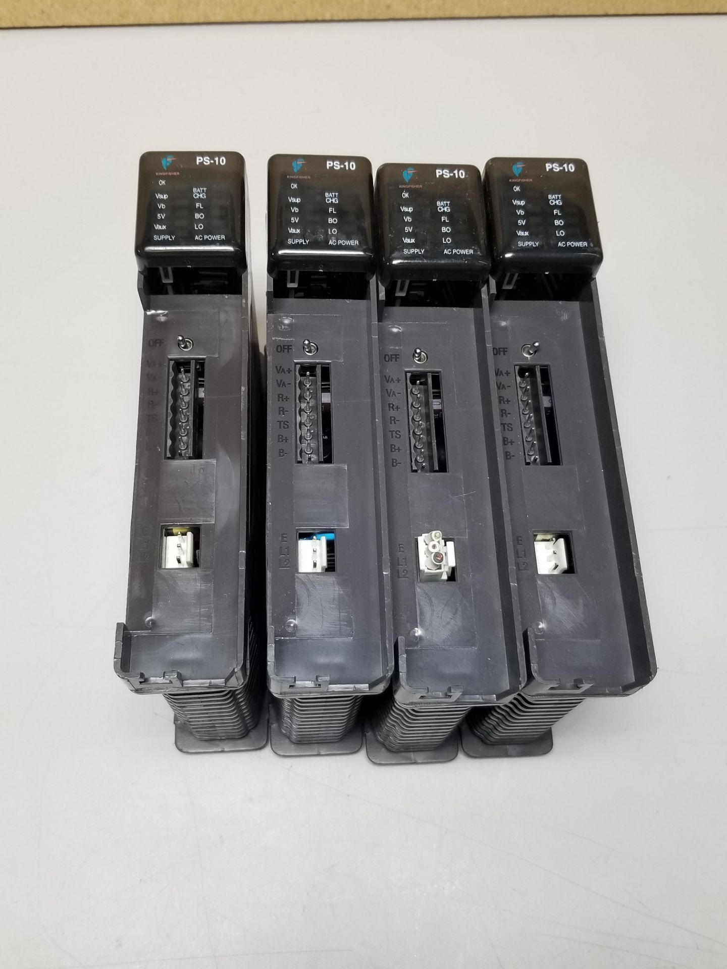 Lot 1 - LOT OF 4 KINGFISHER PLC POWER SUPPLY MODULES