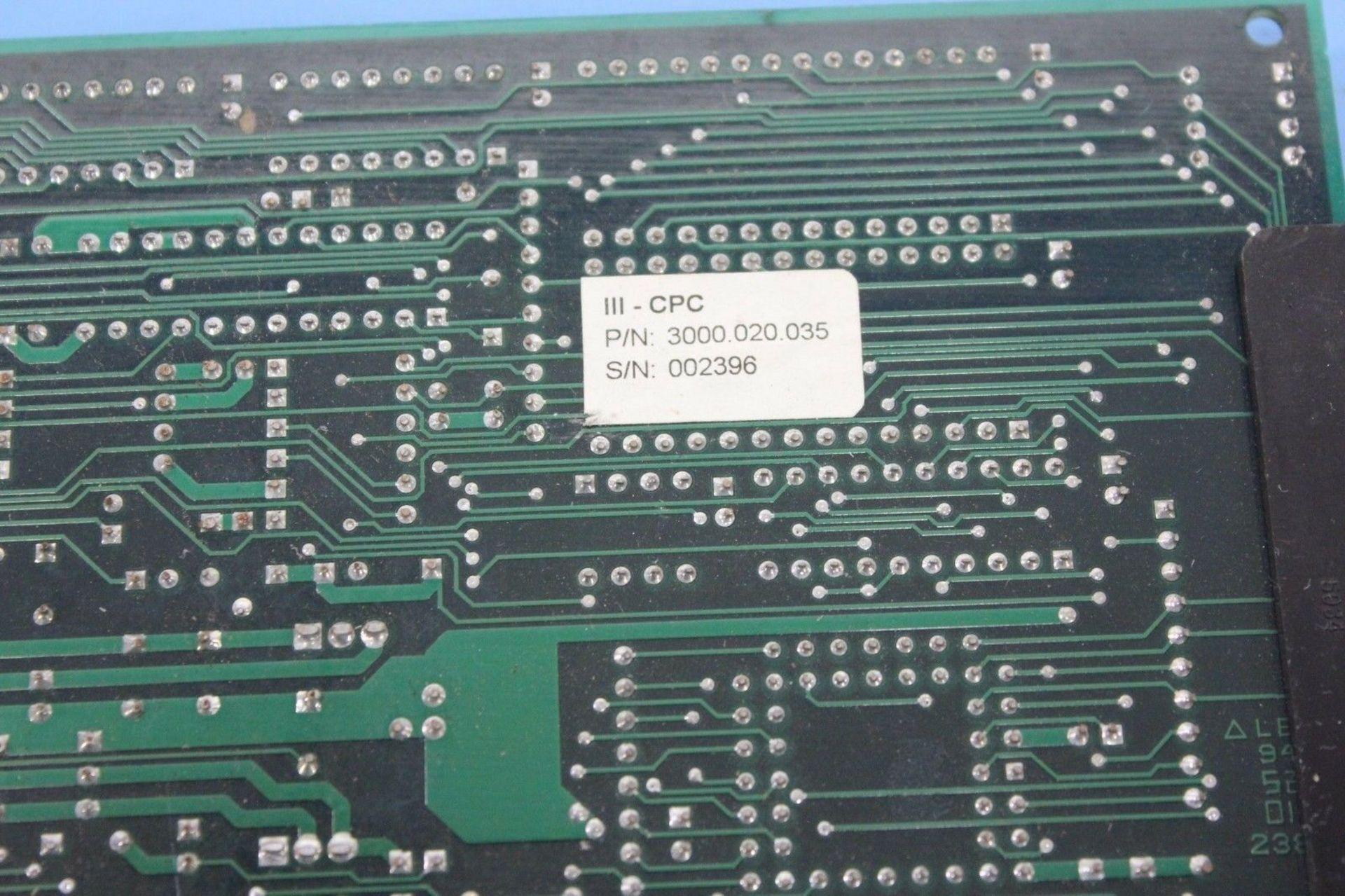 Lot 1172 - AMERICAN MSI HOT RUNNER CPU BOARD